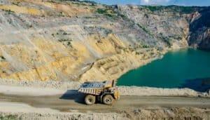 As águas residuais das operações de mineração