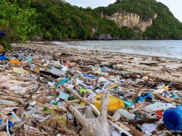 poluição por plastico